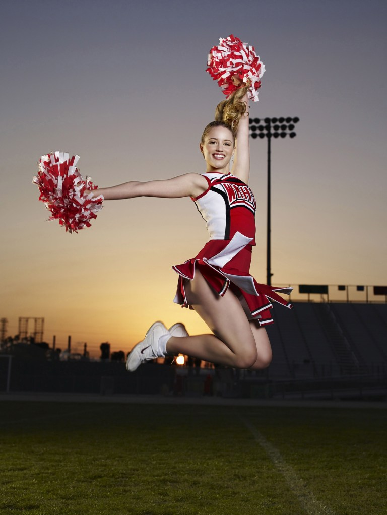 Dianna Agron (Quinn Fabray) in Glee