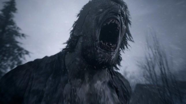 Resident Evil 8 Village werewolf