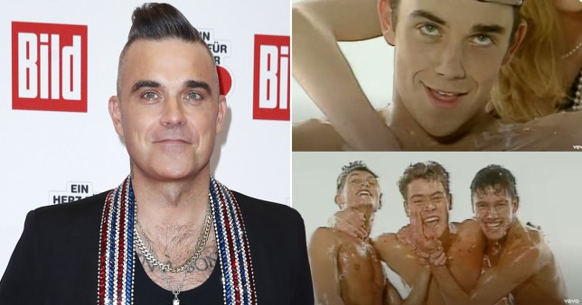 Robbie Williams in Take That