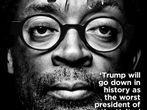 Spike Lee says Donald Trump will 'go down in history' as the worst US president