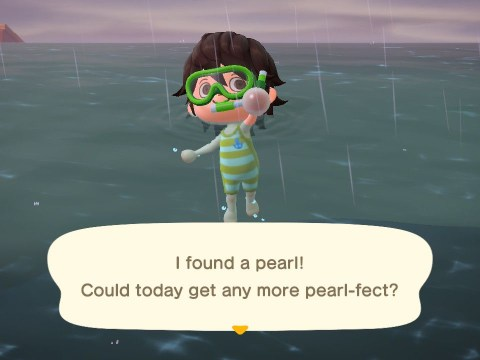 Animal Crossing: New Horizons 1.3 update – Pascal, pearls, and how to swim and get a wet suit