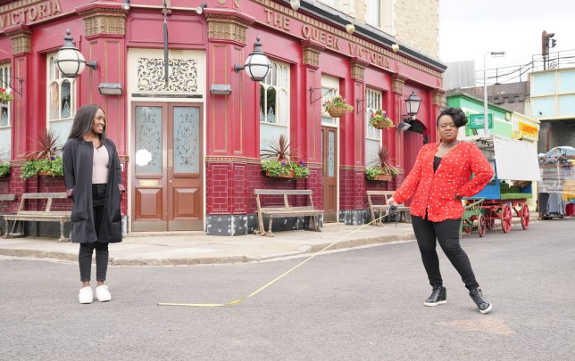 Tameka Empson and Diane Parish vin Secrets From The Square