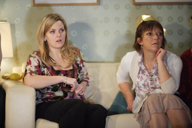 Jo Joyner as Tanya Branning in EastEnders