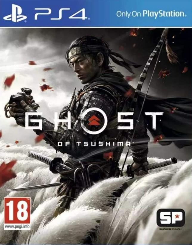 Ghost Of Tsushima box