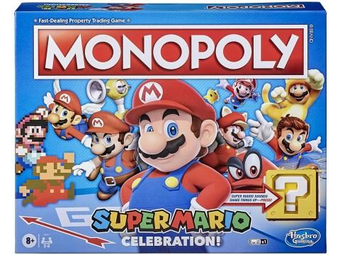 Super Mario 35th anniversary merch revealed – Mario Monopoly and Jenga