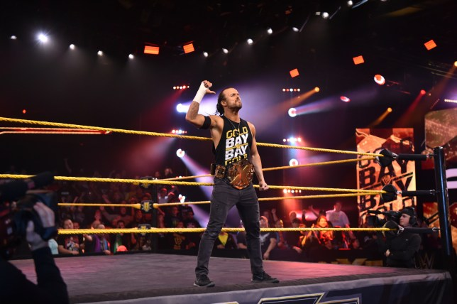 WWE superstar and NXT Champion Adam Cole