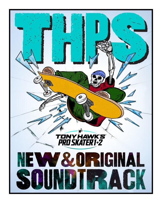 Tony Hawk's Pro Skater 1+2 soundtrack