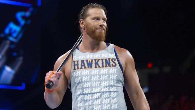 Former WWE superstar Curt Hawkins