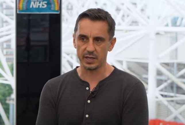 Gary Neville has been slammed over his 'laughable' criticism of Manchester United