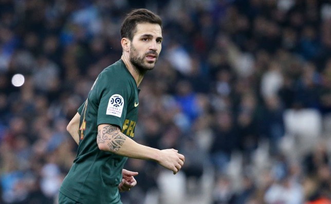 Fabregas has ended up at Monaco in Ligue 1