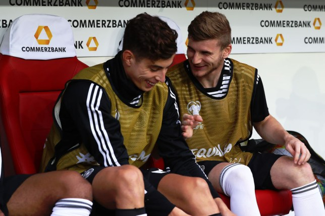 Bayer Leverkusen midfielder Kai Havertz is keen to link up with Timo Werner at Chelsea