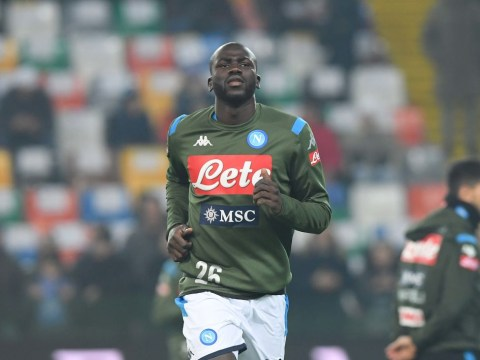 Napoli chief officially sets price for Man Utd and Liverpool transfer target Kalidou Koulibaly