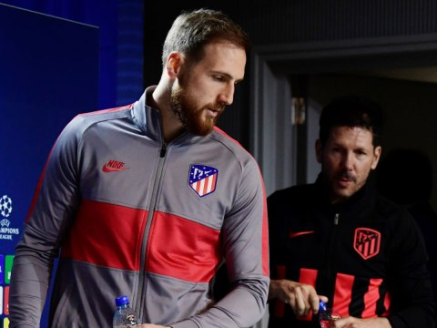 Diego Simeone responds to Chelsea's interest in Atletico Madrid keeper Jan Oblak