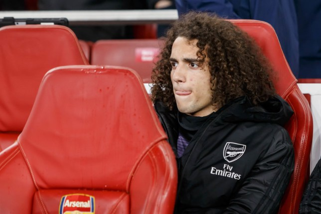 Matteo Guendouzi snubs plea from Arsenal teammate David Luiz over argument with Mikel Arteta