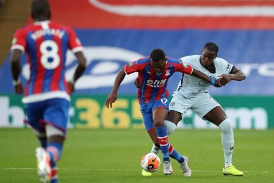Kurt Zouma during Chelsea vs Crystal Palace