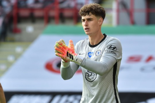 Frank Lampard is said to have already lost patience with Kepa Arrizabalaga