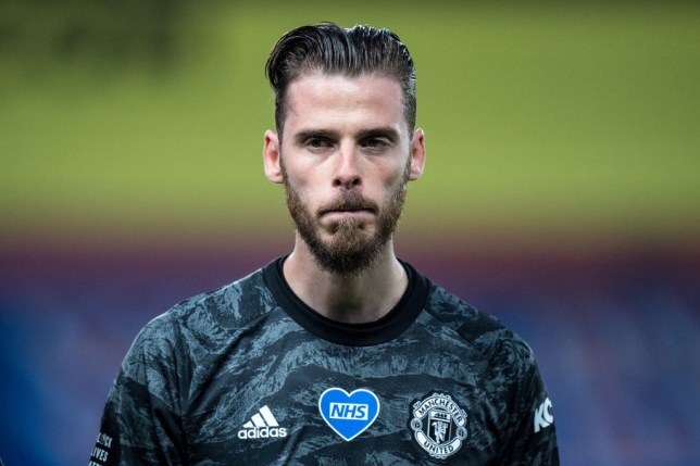 David De Gea's place at Manchester United is under threat