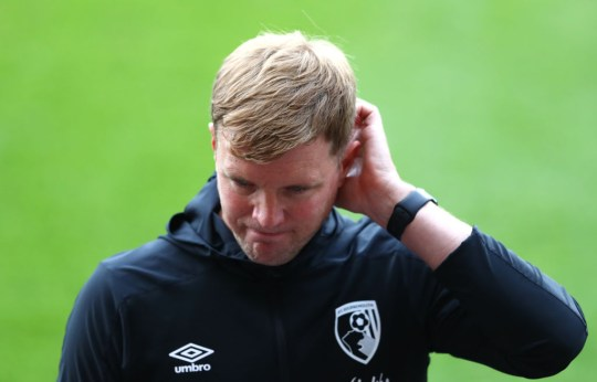 United face Eddie Howe's struggling Bournemouth this weekend