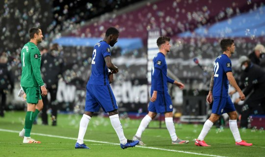 Chelsea slipped to a damaging defeat in east London