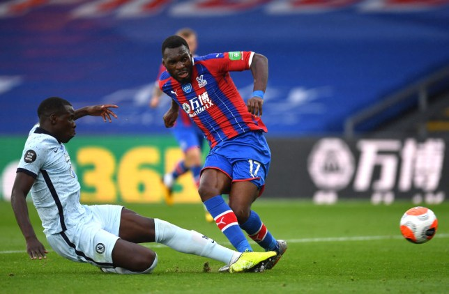 Kurt Zouma's last-ditch tackle saves Chelsea against Crystal Palace