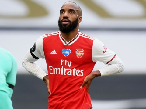 Arsenal star Alexandre Lacazette speaks out on losing place to Eddie Nketiah