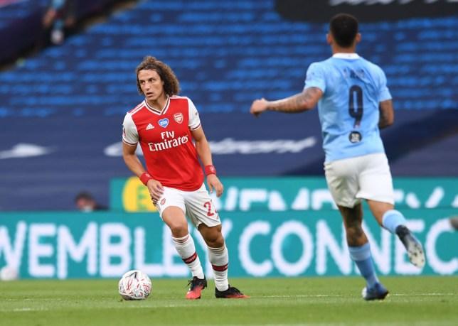 Luiz was solid against City