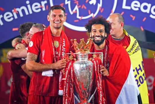 Dejan Lovren after Liverpool FC v Chelsea FC - Premier League