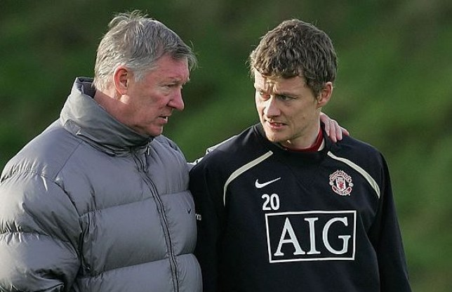 Sir Alex Ferguson and Ole Gunnar Solskjaer disagreed over their philosophy when it came to shooting