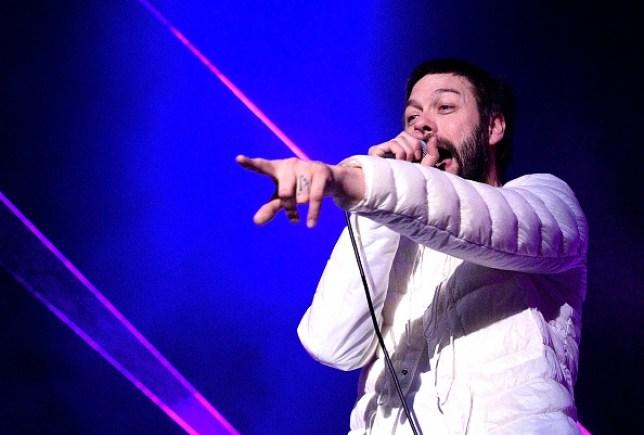 Kasabian Perform At The O2 with Tom Meighan