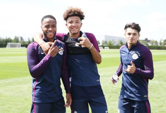 Manchester City Training - City Football Academy