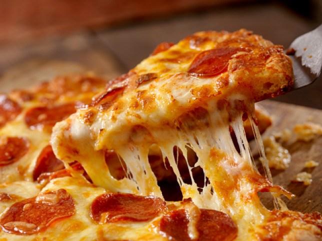 Cheesy Pepperoni Pizza