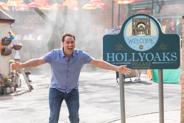 Tony in Hollyoaks