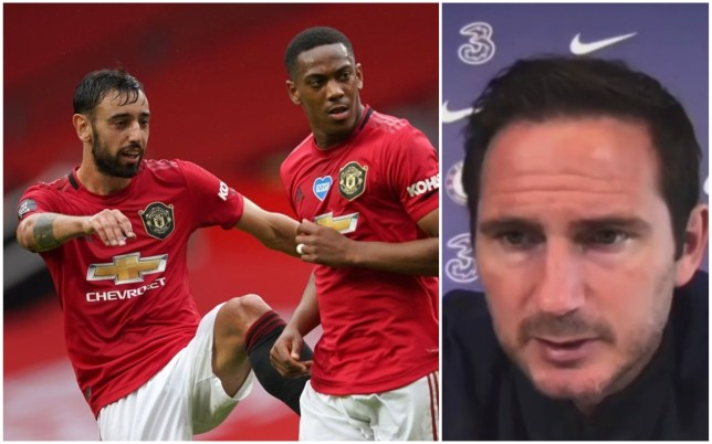 Frank Lampard says Manchester United are Chelsea's biggest threat