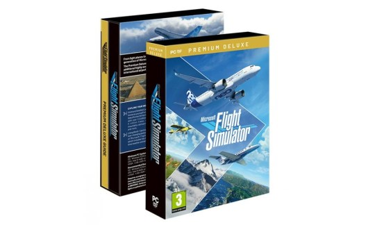 Microsoft Flight Simulator box
