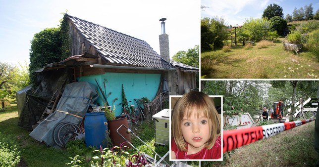 Neighbours claim Madeleine McCann suspect Christian B had a second allotment after police carried out excavations in Hanover this week