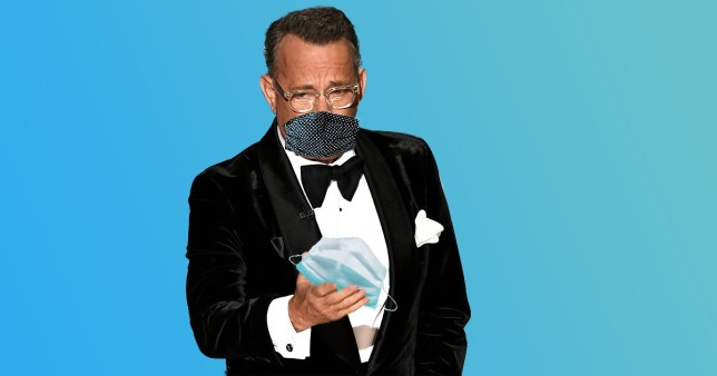 Tom Hanks Mask