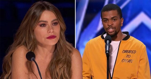 America's Got Talent's Sofia Vergara moved to tears by poet