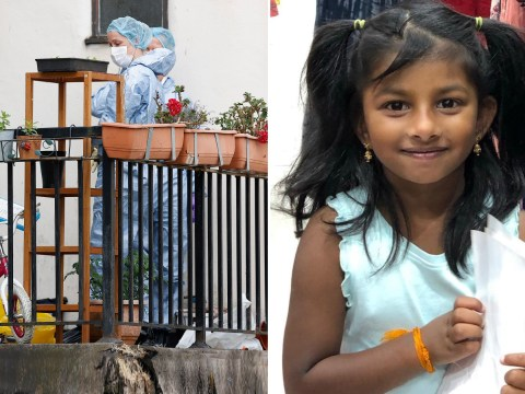 Girl, 5, who died after being stabbed in flat named as Sayagi Sivanantham