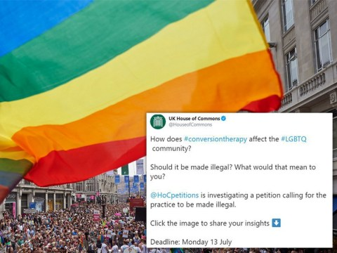 Government slammed for asking people if 'gay cure' therapy should be made illegal