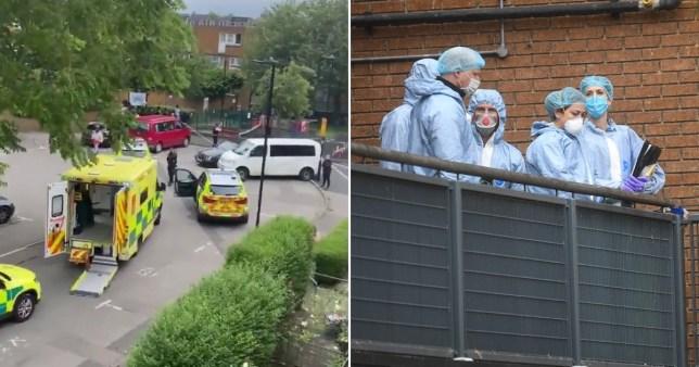 Man shot dead next to children's playground in broad daylight