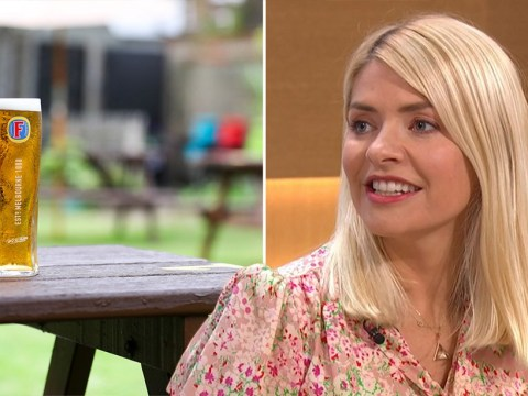 Holly Willoughby 'welled up' after first family visit to the pub because 'it felt so normal'