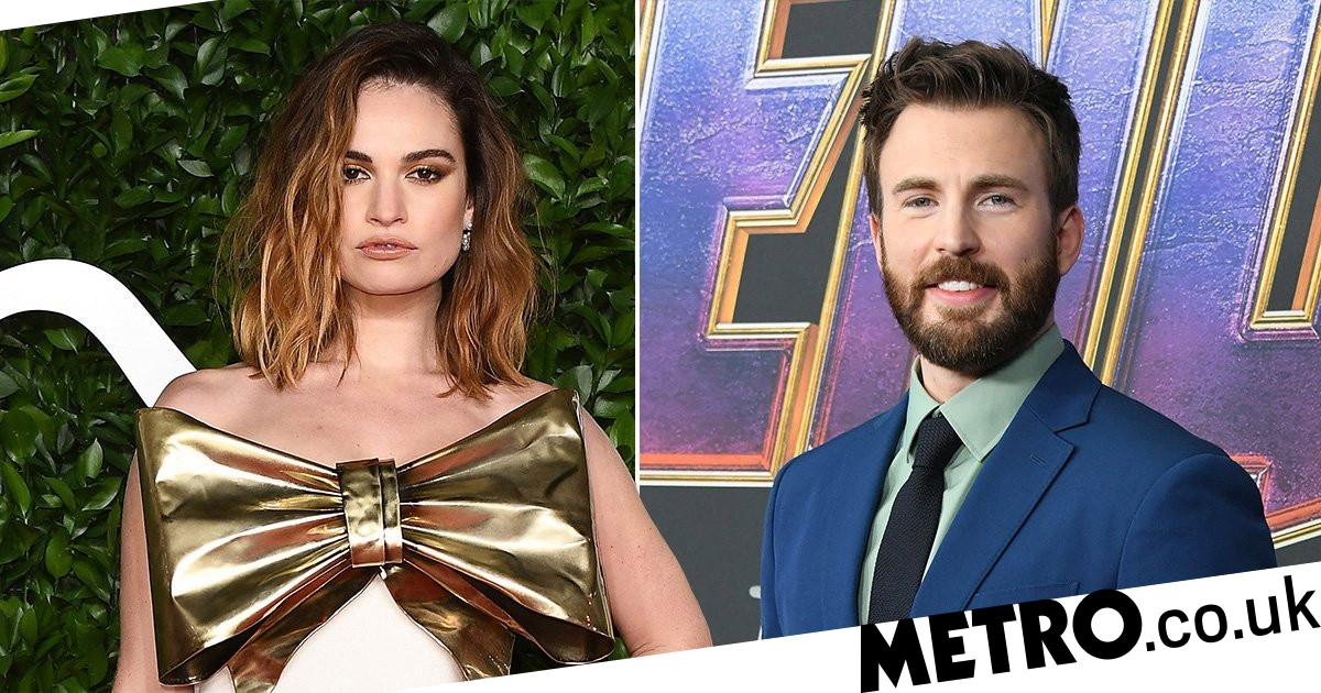 Chris Evans and Lily James spark romance rumours with hotel pictures | Metro News