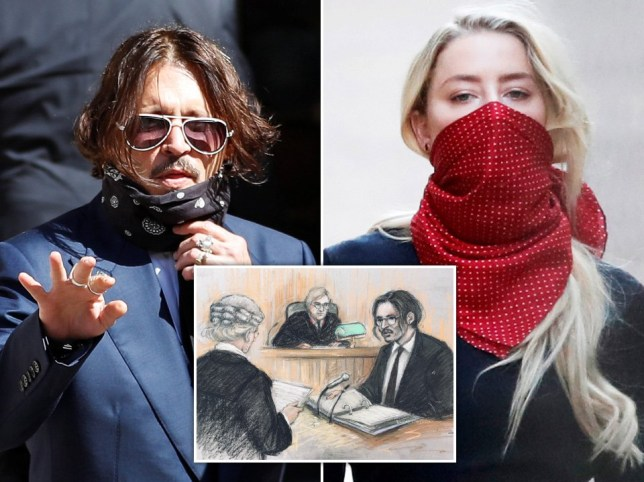 Johnny Depp and Amber Heard trial