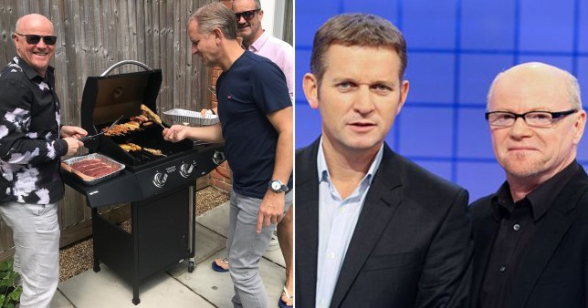 Jeremy Kyle celebrates 55th birthday with pal Graham