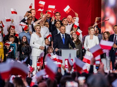 Poland's anti-LGBT president on course for second term after knife-edge vote