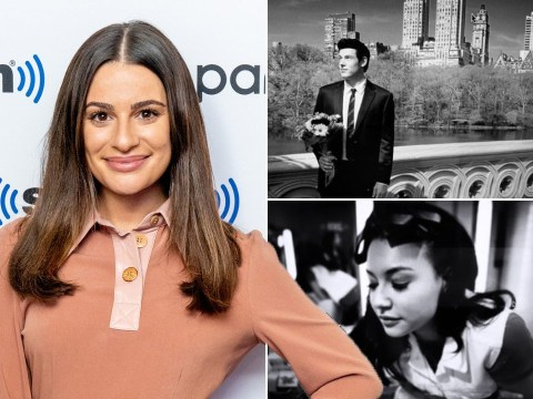 Lea Michele pays tribute to Glee co-stars Naya Rivera and Cory Monteith after deleting Twitter