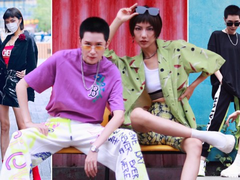 Chinese lesbian couple are absolutely killing the street fashion scene