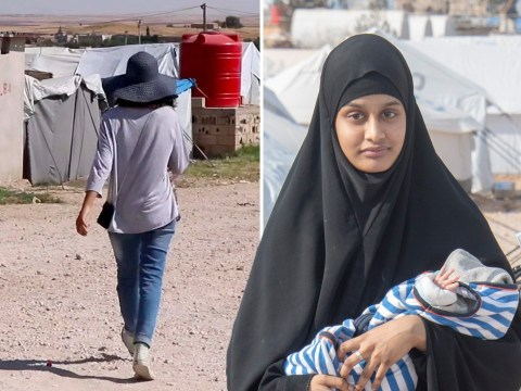 Shamima Begum seen in Syrian refugee camp after court rules she can return to UK