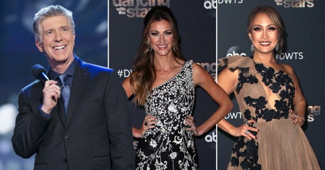 Dancing With The Stars judge Carrie Ann Inaba 'cried' over Tom Bergeron and Erin Andrews' firing