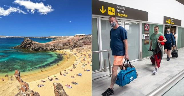 Un touriste britannique suscite la panique dans une station balnéaire espagnole après avoir été testé positif au coronavirus